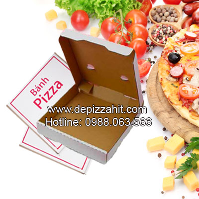 Hộp pizza bán sẵn