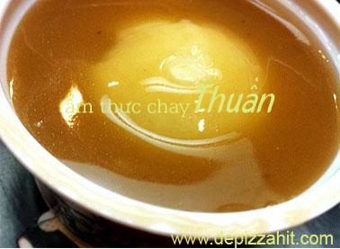 Món thư giãn chay Khoai tây nghiền sốt nấm – 20.000/hũ