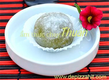 Bánh gạo trà xanh – ẩm thực chay Thuần túy của người việt