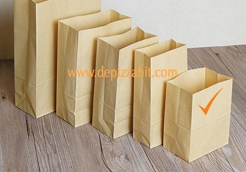 Túi giấy đựng bánh mỳ (12x15x5) 250đ