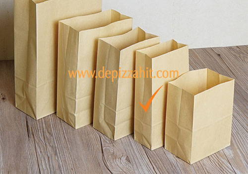 Túi giấy đựng bánh mỳ (12x25x5) 340đ