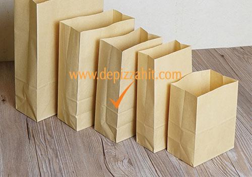 Túi giấy đựng bánh mỳ (17x26x7) 380đ