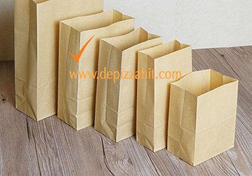 Túi giấy đựng bánh mỳ (25x30x11) 450đ