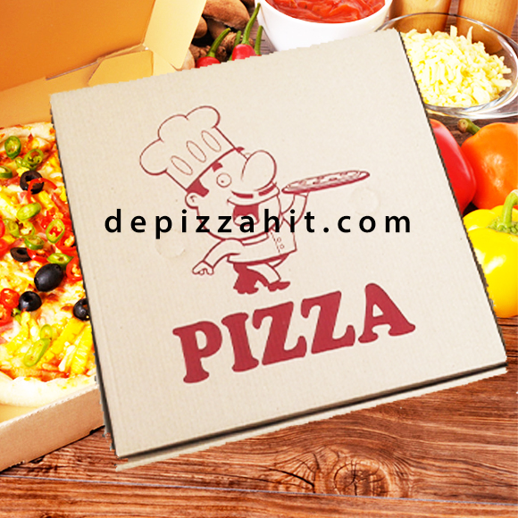 Hộp pizza anh bếp bánh pizza 20cm – 4.000