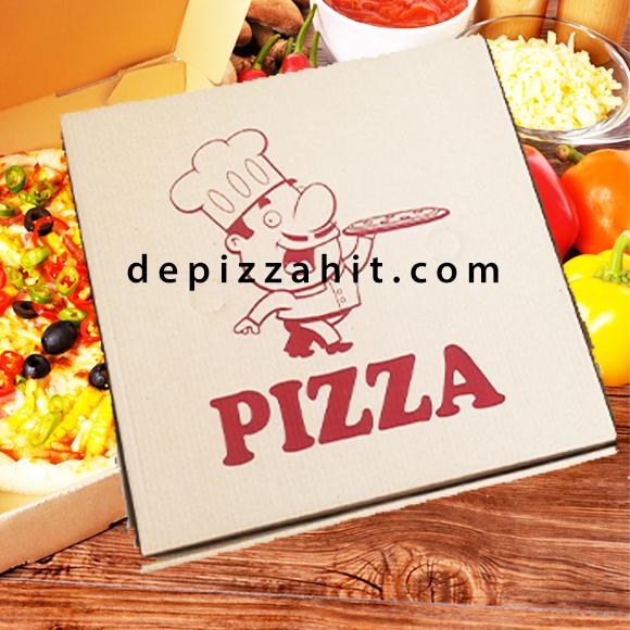 Hộp pizza anh bếp bánh pizza 26cm – 6.000
