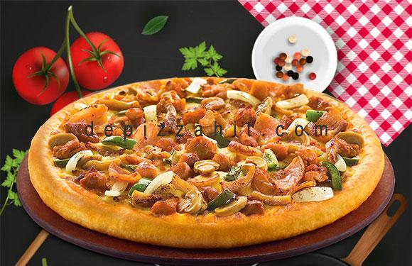 Pizza Gà nấm size 23cm – 169.000