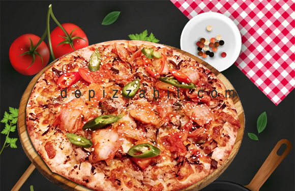 Pizza Kim chi bò hầm size 23cm – 189.000