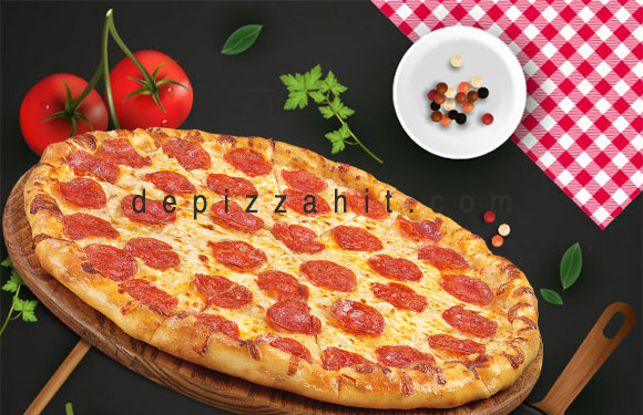 Pizza Pepporonis size 23cm – 189.000