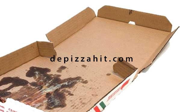Hộp đựng pizza chất liệu chưa đạt chuẩn