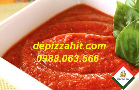 Nguyên liệu làm bánh pizza, tương cà chua Đế pizza Hit