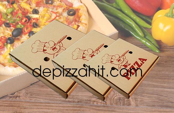 Hộp bánh pizza đẹp