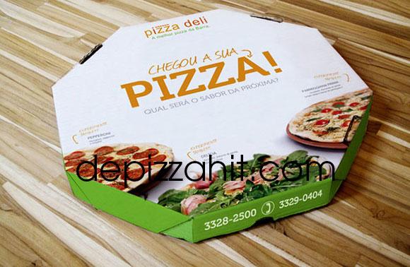 Hộp pizza thiết kế nghệ thuật, sáng tạo