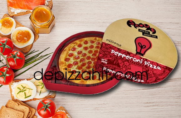 Hộp pizza thiết kế tinh tế, độc đáo