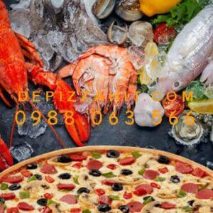Siêu phẩm nguyên liệu làm pizza thập cẩm