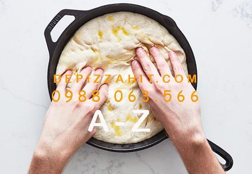 Cách làm đế bánh pizza bằng chảo từ A đến Z 1.3