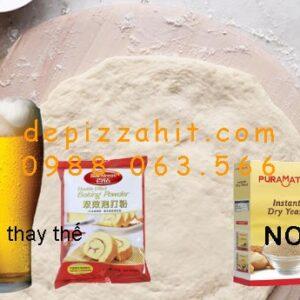 Làm đế bánh pizza không cần bột nở như thế nào 1.1